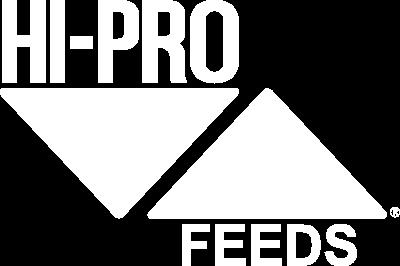 Hi-Pro Feeds Logo White