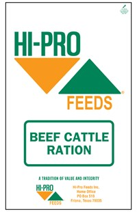 Beef Cattle Ration bag