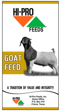 Goat Feed Bag