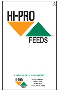 Hi-Pro Feeds plain bag