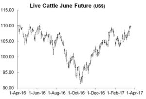 Live June Cattle Future Chart