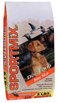 Sportmix dog food bag
