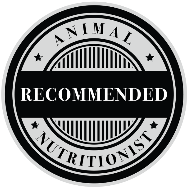 Recommended by Animal Nutritionists