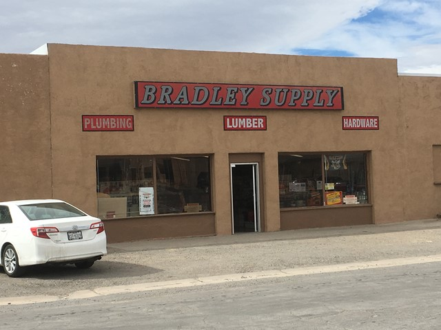 Front of Bradley Supply