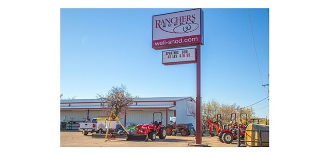 Frong of Rancher's Supply in Amarillo, TX